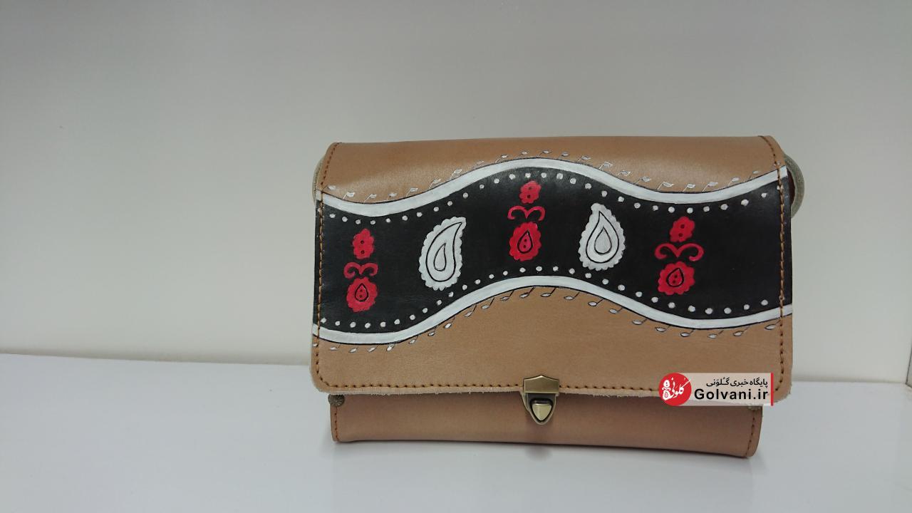 کیف طبله چوبی زنانه سنتی