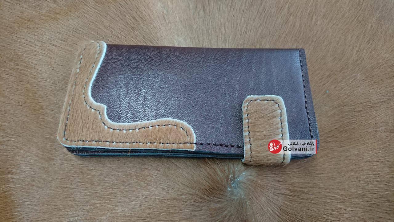 کیف زنانه با چرم مویی