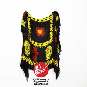 روسری گلونی دو رنگ