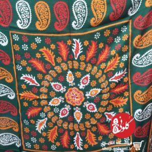 روسری زمینه رنگی